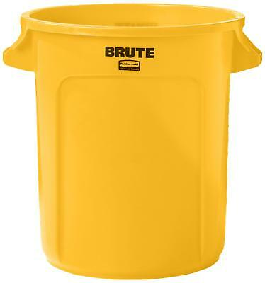 Rubbermaid Commercial BRUTE Heavy-Duty Round Waste/Utility Container with
