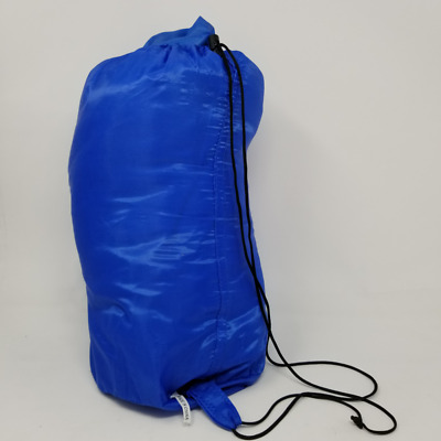 US Buy Camping Sleeping Bag, Envelope Easy to carry Blue Warm Adult Bag Outdoor