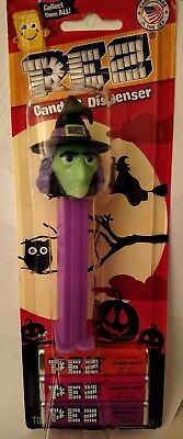 Pez Dispenser Witch New In Package Candy Halloween Mint In Package