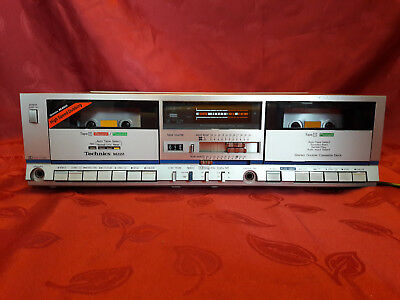 NOS - Technics RS-M222  Double Cassette Deck (1982-84) - boxed and new