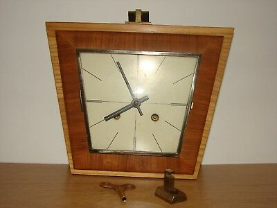 Superb 60s HERMLE mechanical Wall Clock with chimes