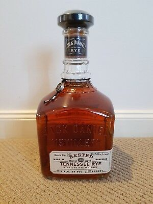 Jack Daniel's Rested Rye Batch 002 Tennessee Whiskey 750ml 80 Proof (40.0%)