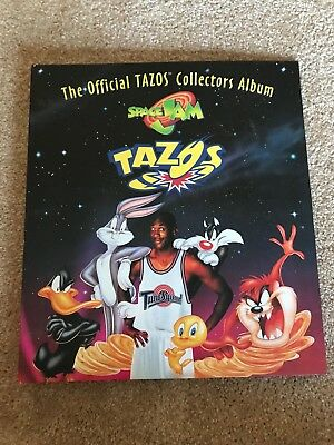 Official Space Jam Tazo Album With Tacos