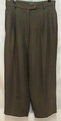 Vintage High Waisted Cue Culottes - Size 12