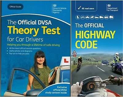 Driving theory test car drivers book for 2020 & latest Highway Code ThryBk+Hw