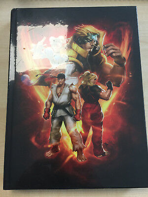 Street Fighter V 5 Collectors Edition Hardcover Guide Lösungsbuch englisch