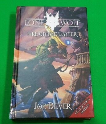 Fire on the Water ***MINT HARDBACK!!*** Lone Wolf Joe Dever Mongoose Collector's