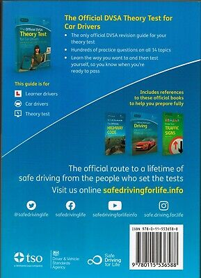 DVSA Driving Test Car Theory Book + Highway Code Book Latest Editions ThryBk+Hw