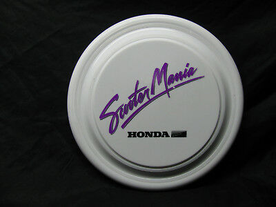 Rare Vintage 1980's Honda Scooter Mania  Frisbee Great Advertising & Promo Piece