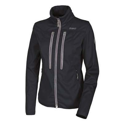 Pikeur Marle Ladies Fitted Softshell Jacket navy blue size 42 or UK 14