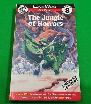 The Jungle of Horrors ***MINT 2nd BEAVER EDITION!!*** Joe Dever Lone Wolf