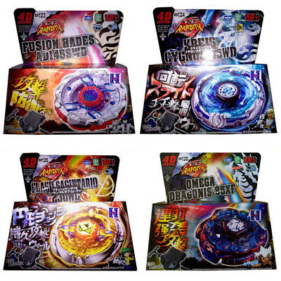 Beyblade Burst Metal Fusion Masters 4D System With Box And Launcher Fury Fight