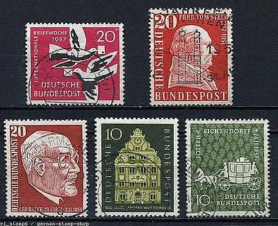 Germany - BRD : 5 stamps from 1958 - used