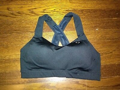 c1a2033233 BROOKS SURESHOT RACER Sports Bra Large Moving Comfort Collection ...