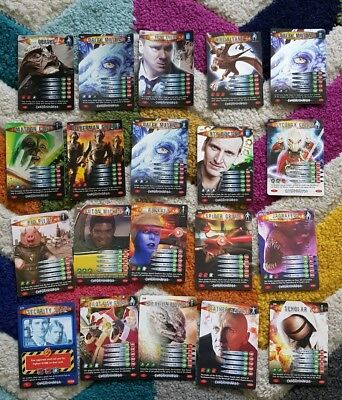 Doctor Who Battles in Time EXTERMINATOR Job Lot Rare and shiny 33 cards