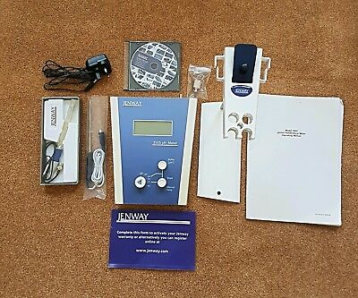 Jenway 3505 pH/mV/Temperature Meter with accessories