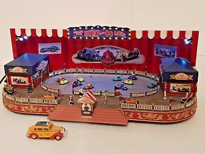 orig. Mr. Christmas Gold Label Worlds Fair Bump and Go Autoscooter H0