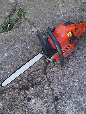 LARGE HUSQVARNA XP  PETROL CHAINSAW WITH STIHL oil