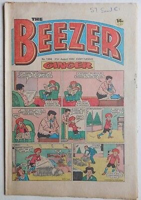 BEEZER Comic #1388 - 21st August 1982
