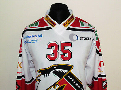 Young Sharks Basel Hockey Jersey Top Size M