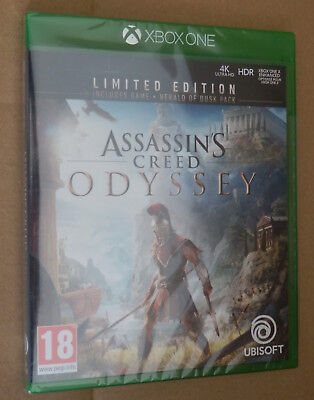 Assassins Creed: Odyssey englische Limited Edition Xbox One NEU