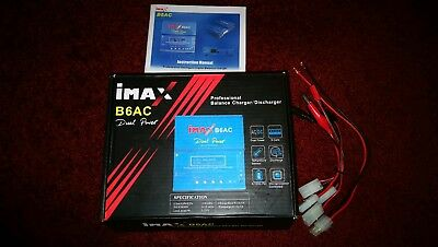 iMAX B6AC 80W Ladegerät Charger Discharger Akku BatterieLiPo NiCd NiMH 1S-6S 6A