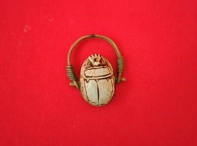 Ring Scarab Egyptian copper Ancient Egypt Antique Beautiful