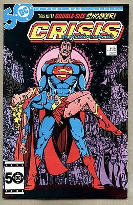 Crisis On Infinite Earths #7-1985 nm- George Perez Death of Supergirl