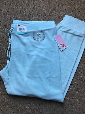 Brand New With Tags JUICY COUTURE Tracksuit Bottoms Size XL Baby Blue