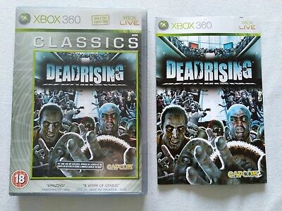 Dead Rising Classics Edition CASE + MANUAL ONLY, NO DISC (Xbox 360, PAL)