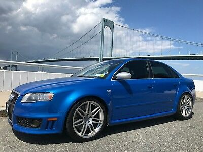 2007 Audi RS4  2007 Audi RS4 Sprint Blue Pearl