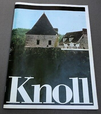 Vintage 70s KNOLL Color Catalogue Mid Century Modern Furniture Home Furnishings