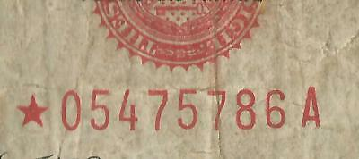 FR. 1528* Series of 1928C Five Dollars ($5) Star United States Note