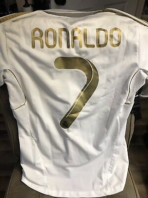 factory price 2597a 86444 CRISTIANO RONALDO AUTHENTIC Real Madrid Game Jersey Size Medium Juventus