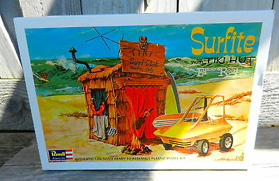 "Revell Surfite With Tiki Hut Ed ""big Daddy"" Roth 1/25Th Scale Plastic Model Kit"