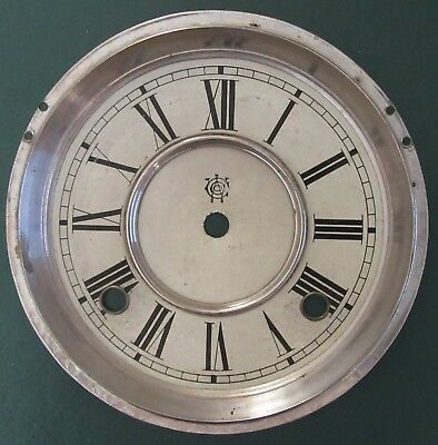 Vintage Waterbury Clock Company Face 6.5""