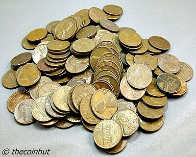 1 Full Pound Lincoln Cents Copper Pennies Huge Collectors Lot of Coins CH4776