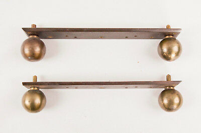English Regency 2 fusee bracket clock case brass feet @ bench made reproduction