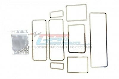GPM scale accessories: stainless steel window frame for Traxxas TRX-4 Defender