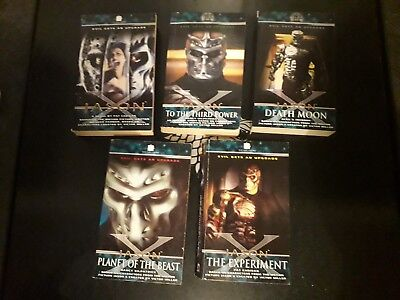 Friday The 13th Jason X  complete Set of RARE OOP Books Black Flame publishing's