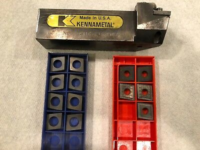 Kennametal Tool Holder With Carbide Inserts CNMG 643