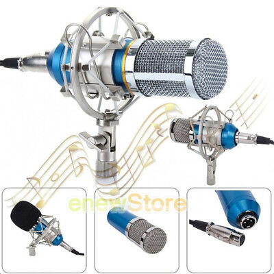 MUCH BM-800 Condenser Microphone For Studio Recording Broadcast +Shock Mount