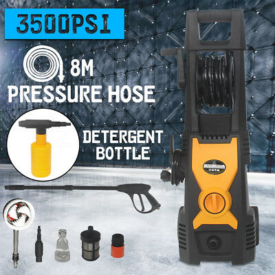 High Pressure Washer Cleaner 3500 PSI Clean Electric Water Gurney Pump 8M Hose