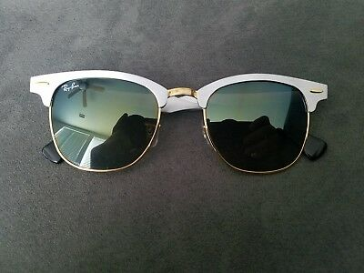 626879f0a6545 RAY BAN RB 3507 137 9J 51-21 Aluminum Clubmaster Sunglasses -  49.00 ...