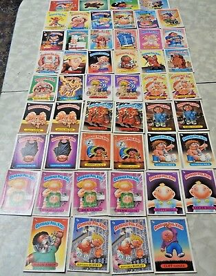 1986 Vintage Gargbage Pal Kids Cards (50)