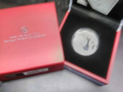 2010 Royal Canadian Mint 15 $ Silver coin Year of the Tiger, Scalloped