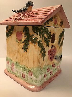 Bird House Cookie Jar