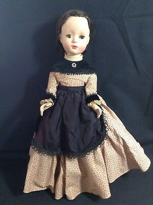 Marme Little Women Madame Alexander Doll Vintage 1950's Walker, Orginal 14-15""