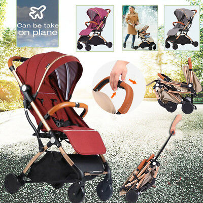 2018 Foldable Travel Baby Carriage Lightweight Pram Baby Strolle Carry On Plane