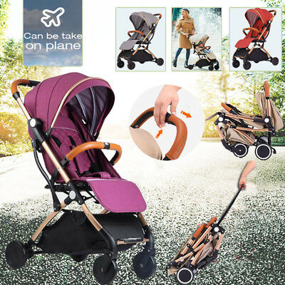 Compact Lightweight Baby Stroller Pram Fold Pushchair Portable Travel Carry On